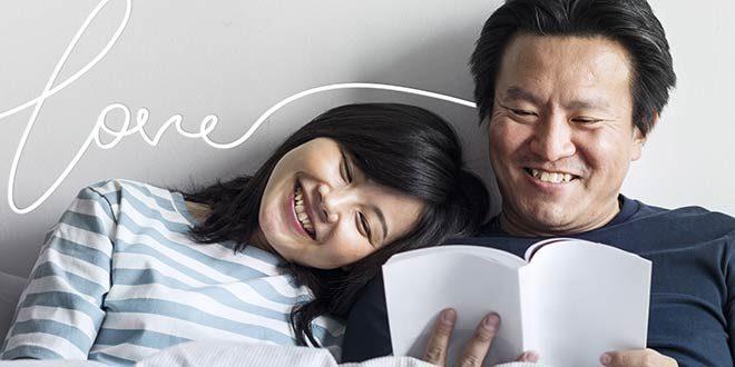 同じベッドで寝る夫婦
