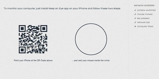 Keep on eyes(キープオンアイズ)iPhone アプリ
