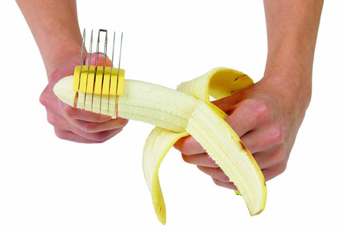 chef'n バナナスライサーレモン CF-0337