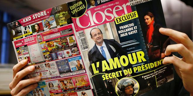 フランス大統領が不倫。77%が個人のことなのでOK。企業もパロディー広告!