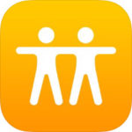 iPhone用アプリ「友達を探す」のアイコン