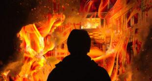 不倫で家を放火している