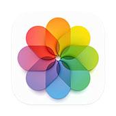 iPhoneアプリ「写真」のアイコン
